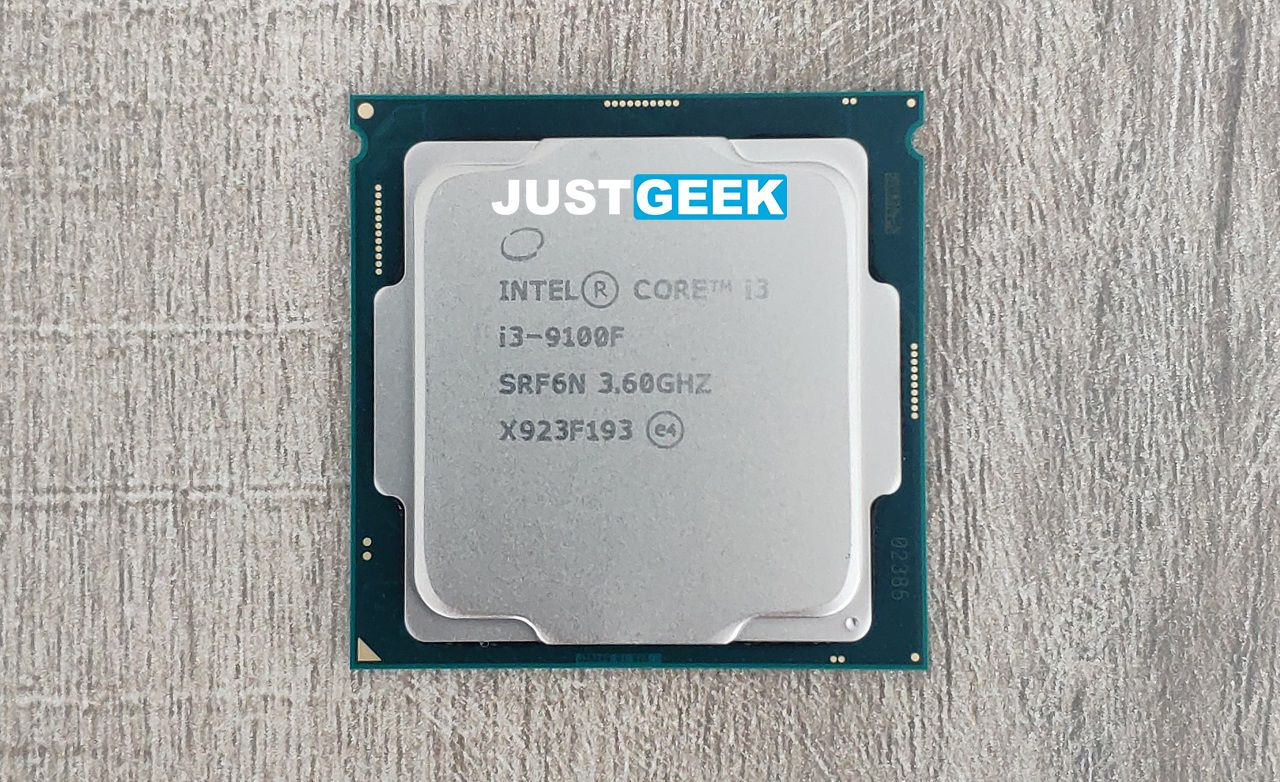 Tutoriel montage PC : Processeur Intel Core i3-9100F