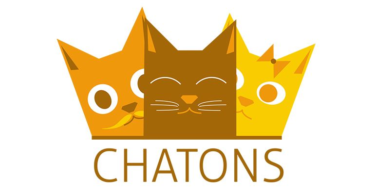 Logo collectif CHATONS