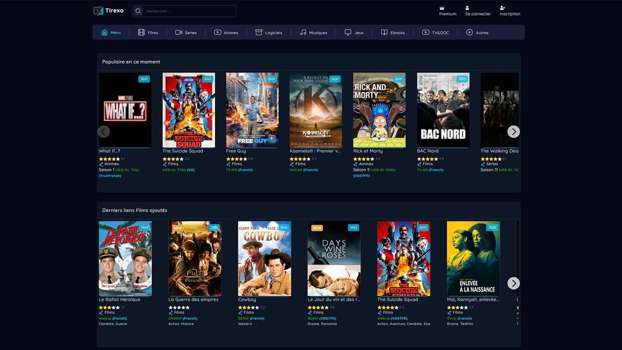 Tirexo : Film en Streaming Regarder Film et Series Streaming