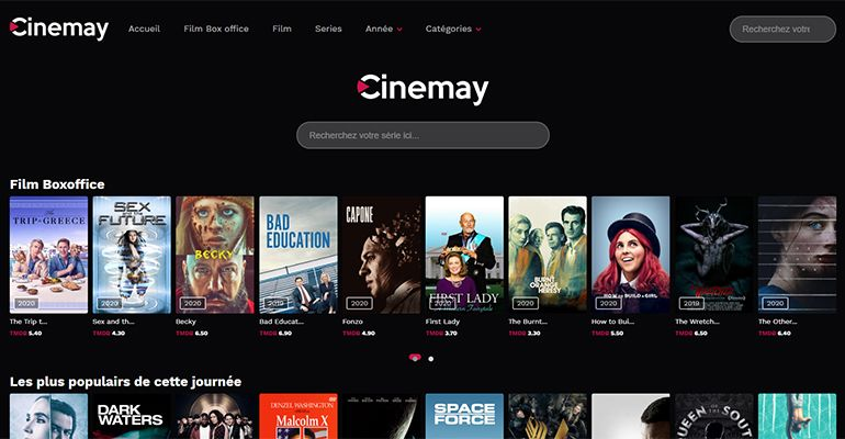 Cinemay : Film en Streaming, serie en streaming