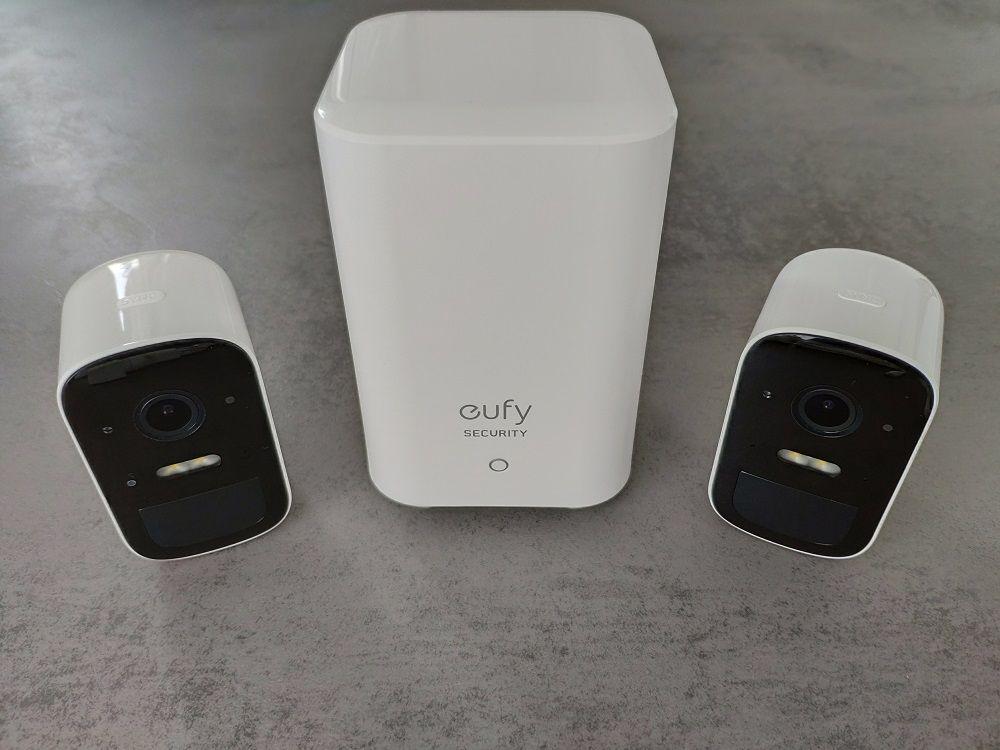 eufyCam 2C : HomeBase + caméras de surveillance