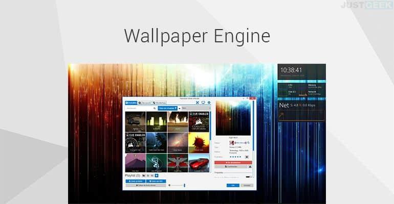 Fond d'écran animé PC avec Wallpaper Engine