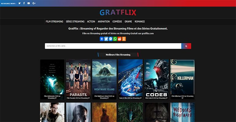 Gratflix : Film en Streaming Regarder Film et Series Streaming