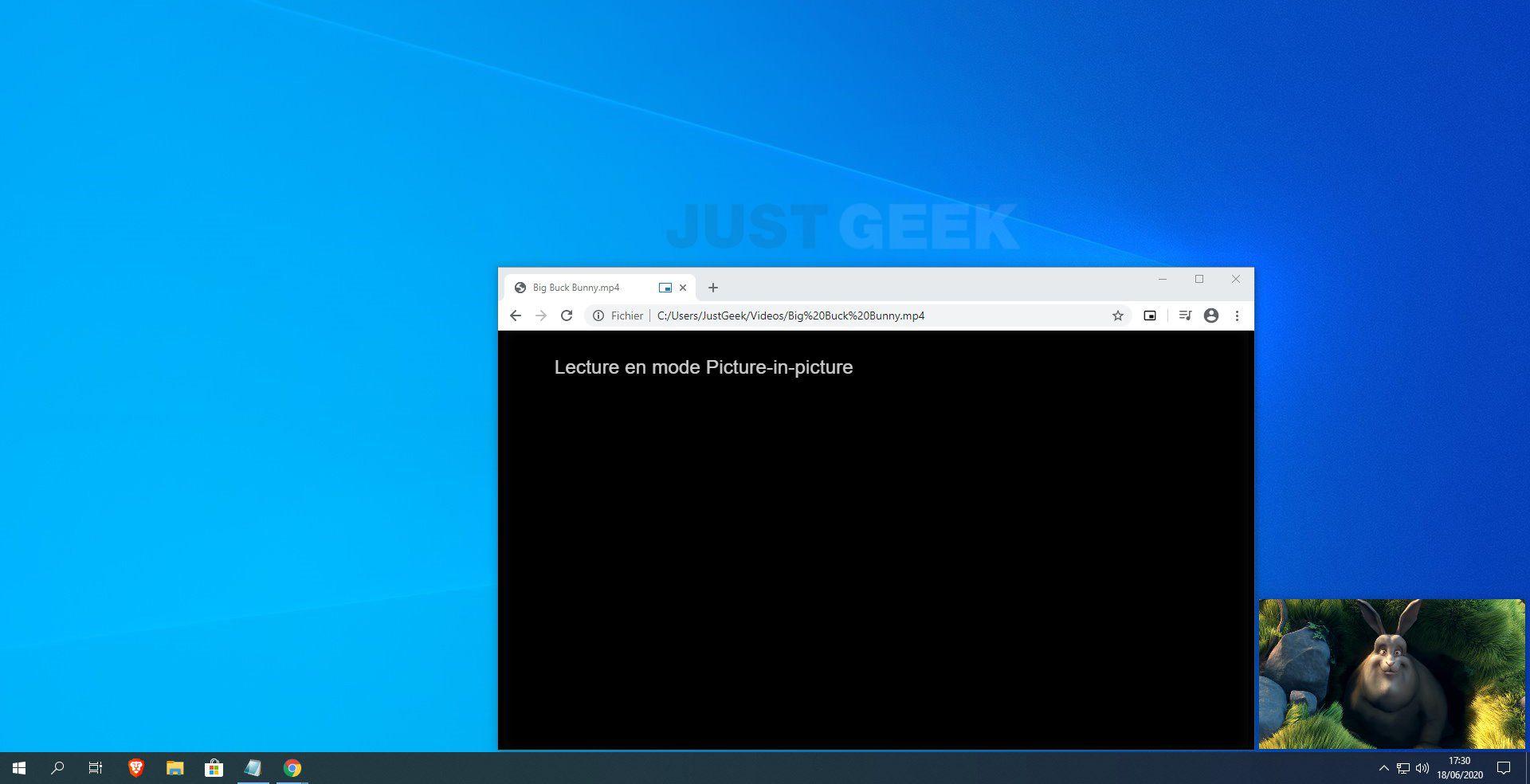 Vidéo locale Picture-in-Picture dans Chrome