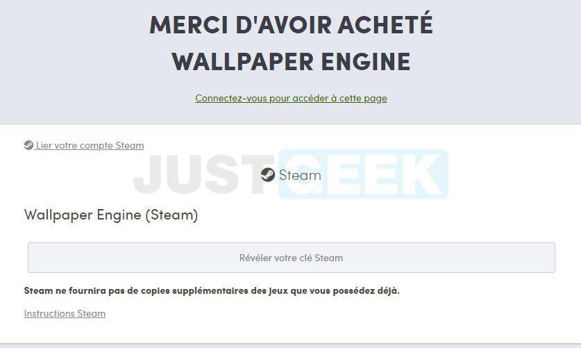 Achat Wallpaper Engine