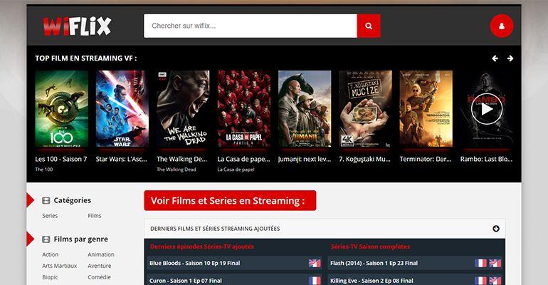Wiflix : Voir Film Streaming et Séries VF Gratuit