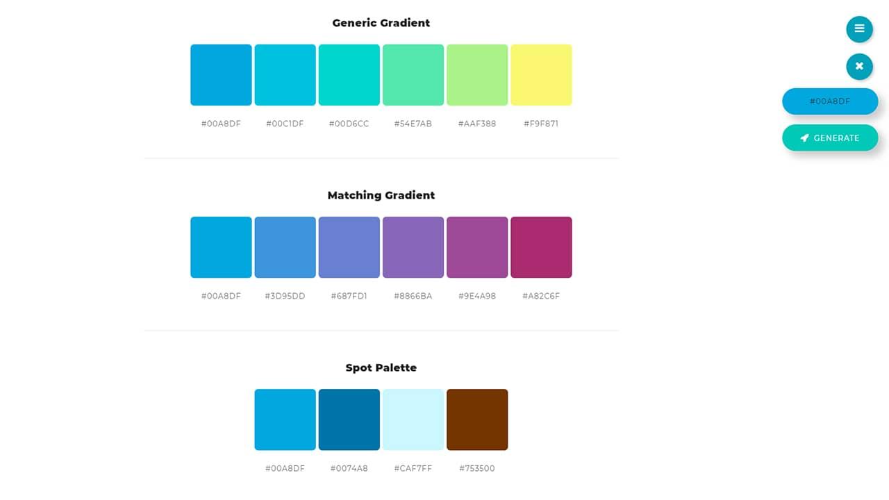 Générer des palettes de couleurs avec ColorSpace