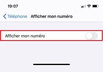 Appeler en numéro masqué sur un iPhone