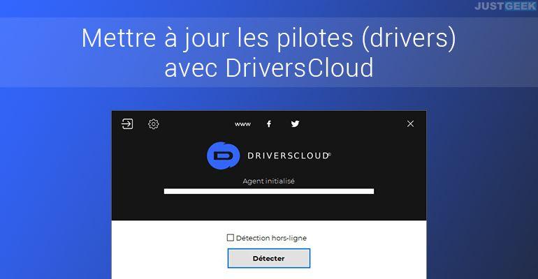 Mettre à jour les pilotes (drivers) avec DriversCloud