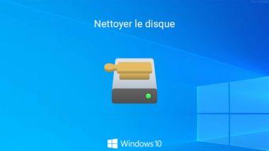 Nettoyer le disque dur ou SSD dans Windows 10