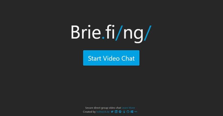 Briefing : Un service de visioconférence sécurisé et open source