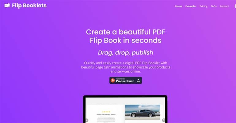 Flip Booklets : Créer de beaux PDF avec des animations