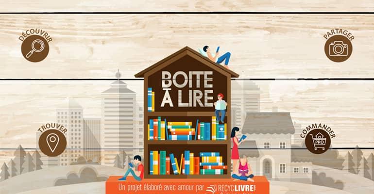 Trouver facilement une boîte à lire dans votre ville