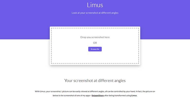 Limus: improve your screenshots