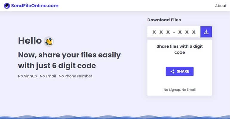 SendFileOnline : Partage de fichiers gratuit