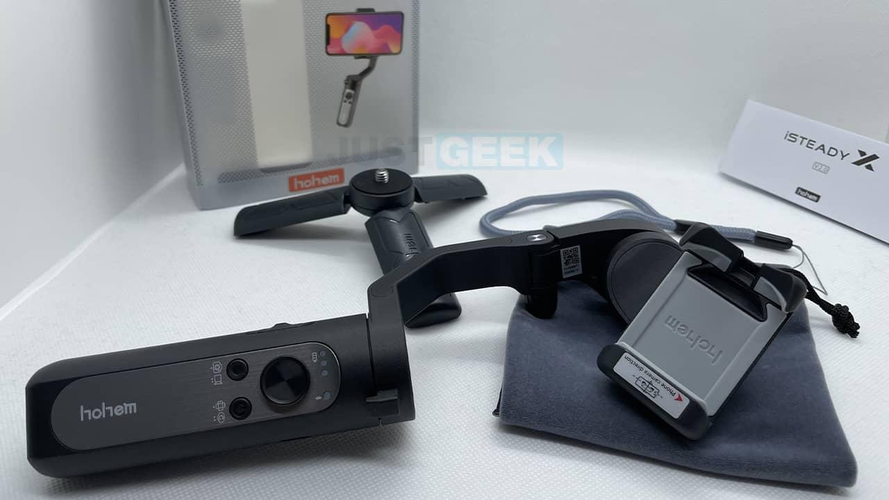 Photo du stabilisateur pour smartphone Hohem iSteady X