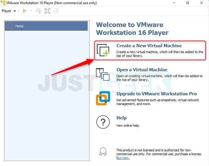 Étape 1 : Créer une nouvelle machine virtuelle avec VMware
