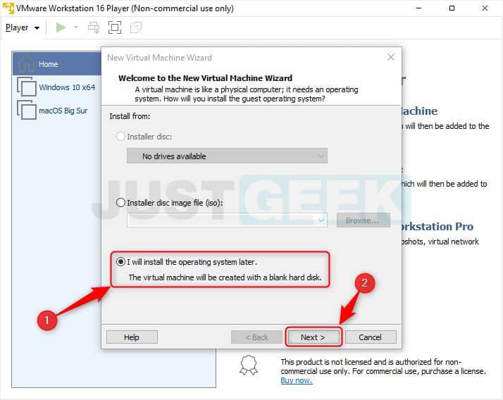 Étape 2 : Installer une nouvelle machine virtuelle avec VMware