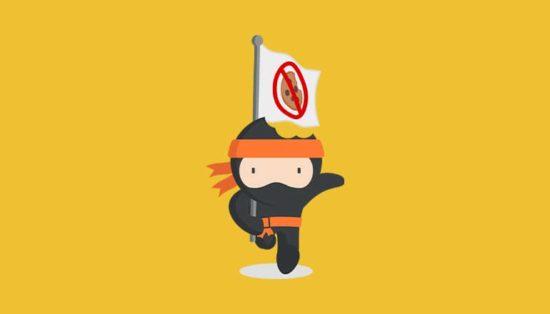 Ninja Cookie : bloquer les cookies dans votre navigateur Web