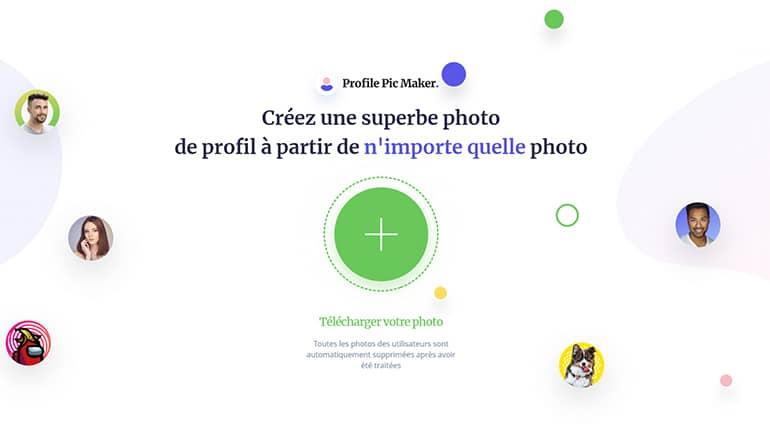 Créer une superbe photo de profil avec PFPMaker