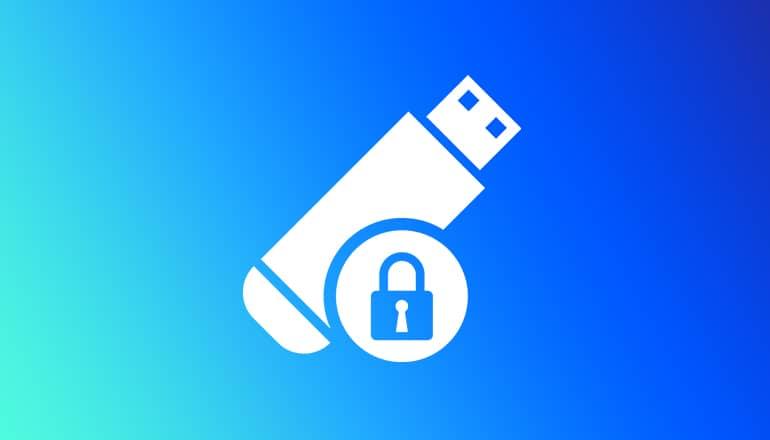 Protéger une clé USB avec un mot de passe