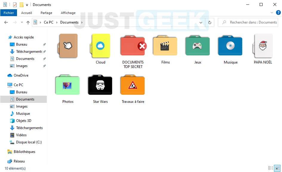 Personnaliser les dossiers Windows avec CustomFolder
