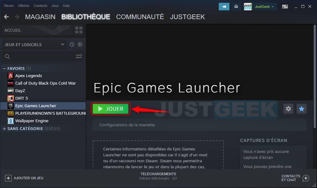 Utiliser la manette PS5 sur PC dans Steam