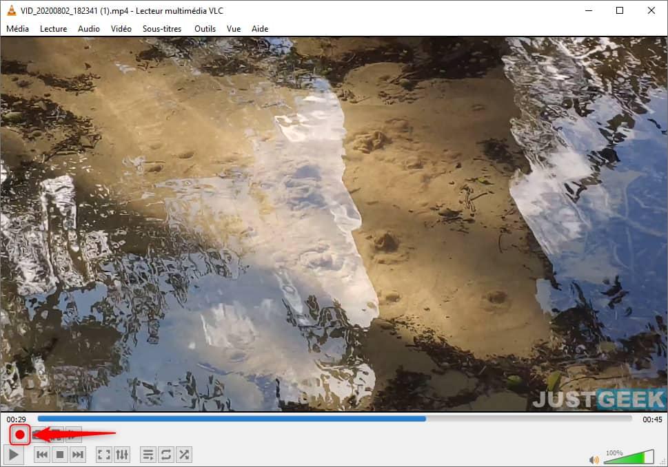 Couper une vidéo avec VLC