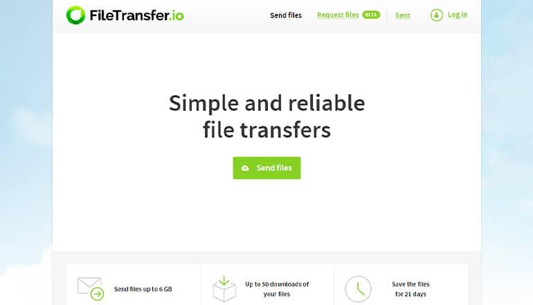 FileTransfer.io : Partager facilement des fichiers volumineux
