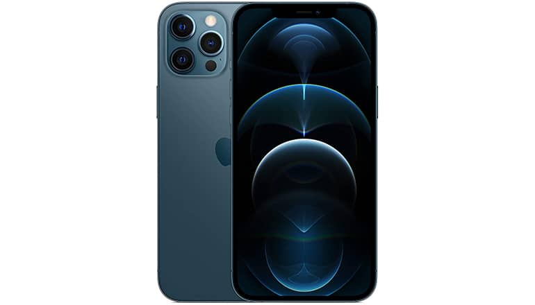 iPhone 12 Pro Max (bleu pacifique)