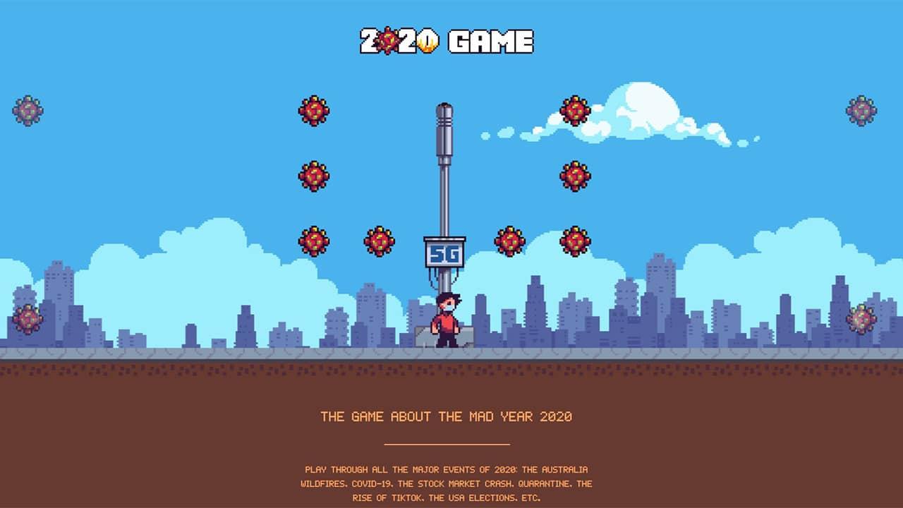 2020game.io : jeu vidéo sur l'année 2020