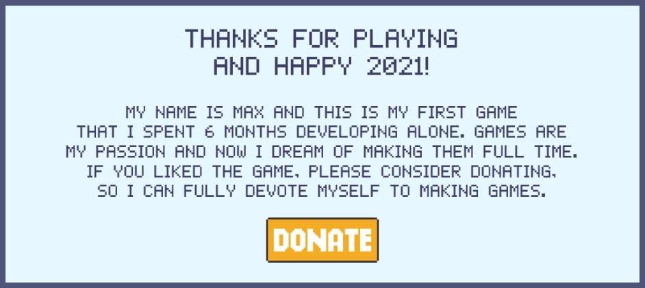 2020game.io : aider le développeur