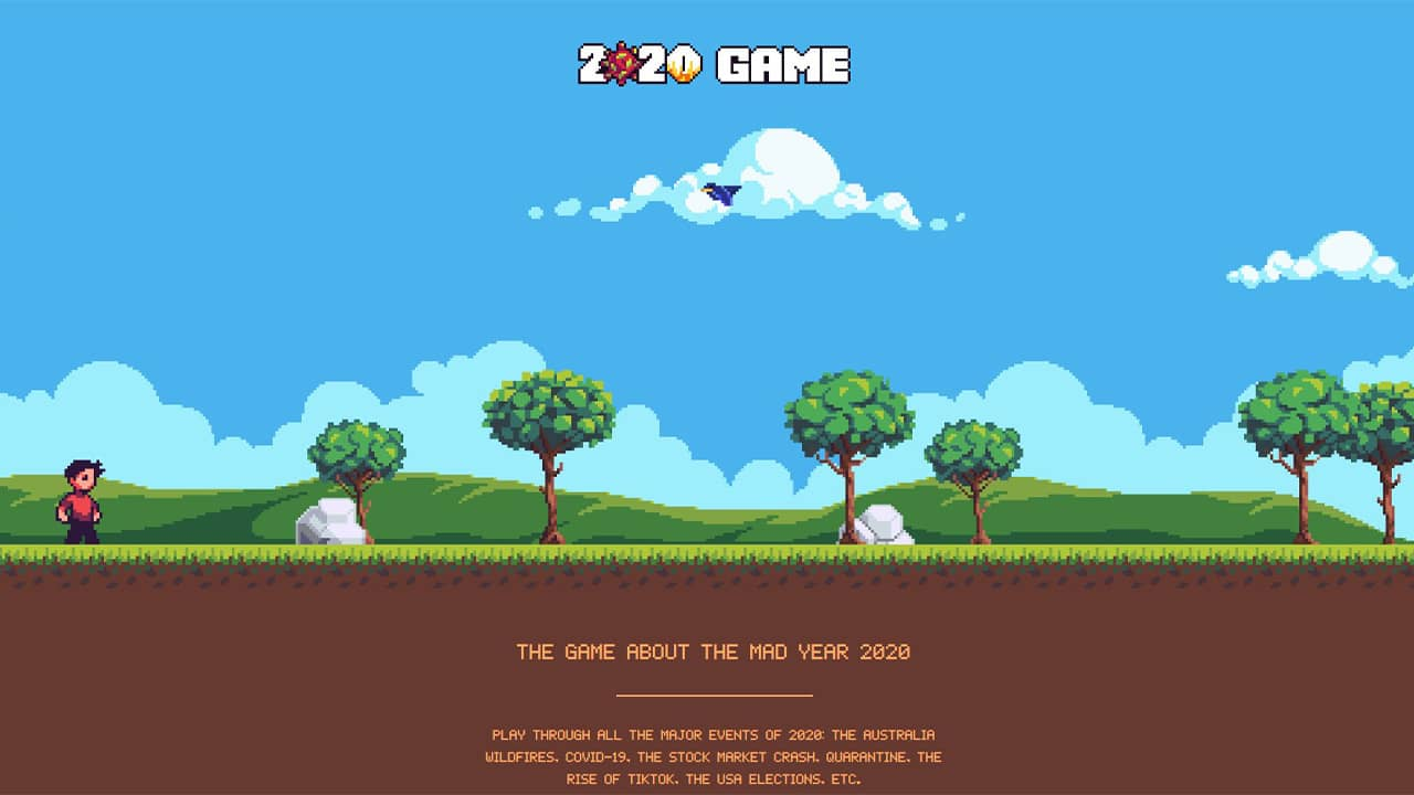 2020 Game : jeu vidéo année 2020