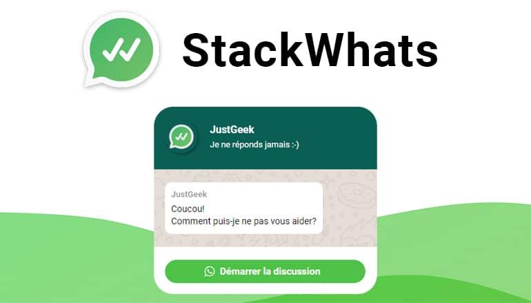 StackWhats : intégrer système de discussion WhatsApp à votre site web