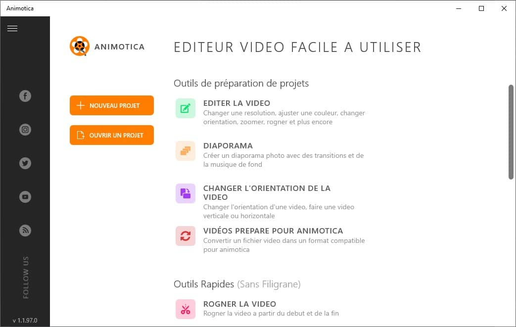 Animotica : éditeur vidéo windows 10