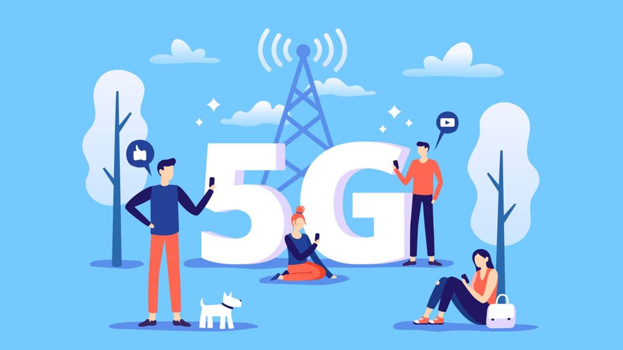 Couverture réseau mobile 5G