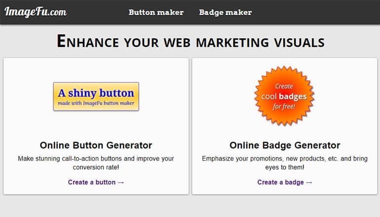 ImageFu : générateur en ligne de badges et boutons au format PNG