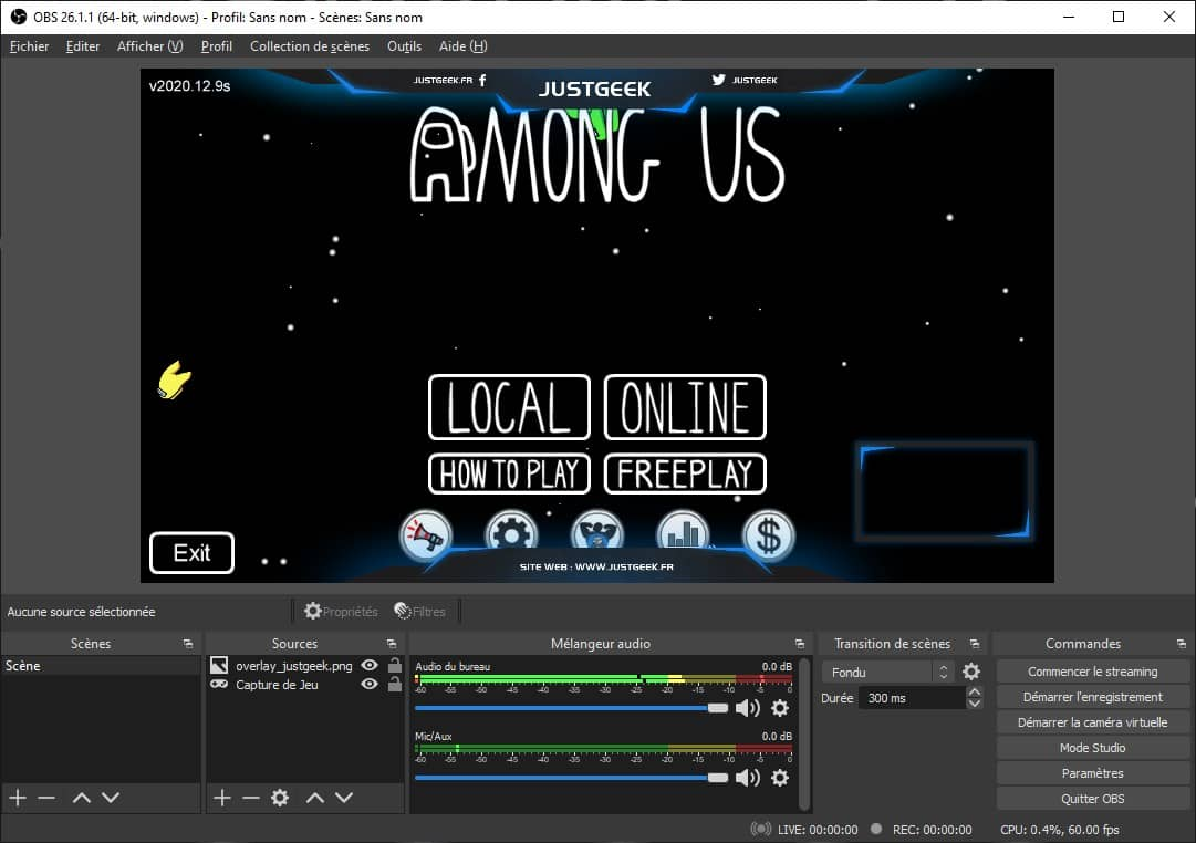 OBS Studio : logiciel de streaming gratuit