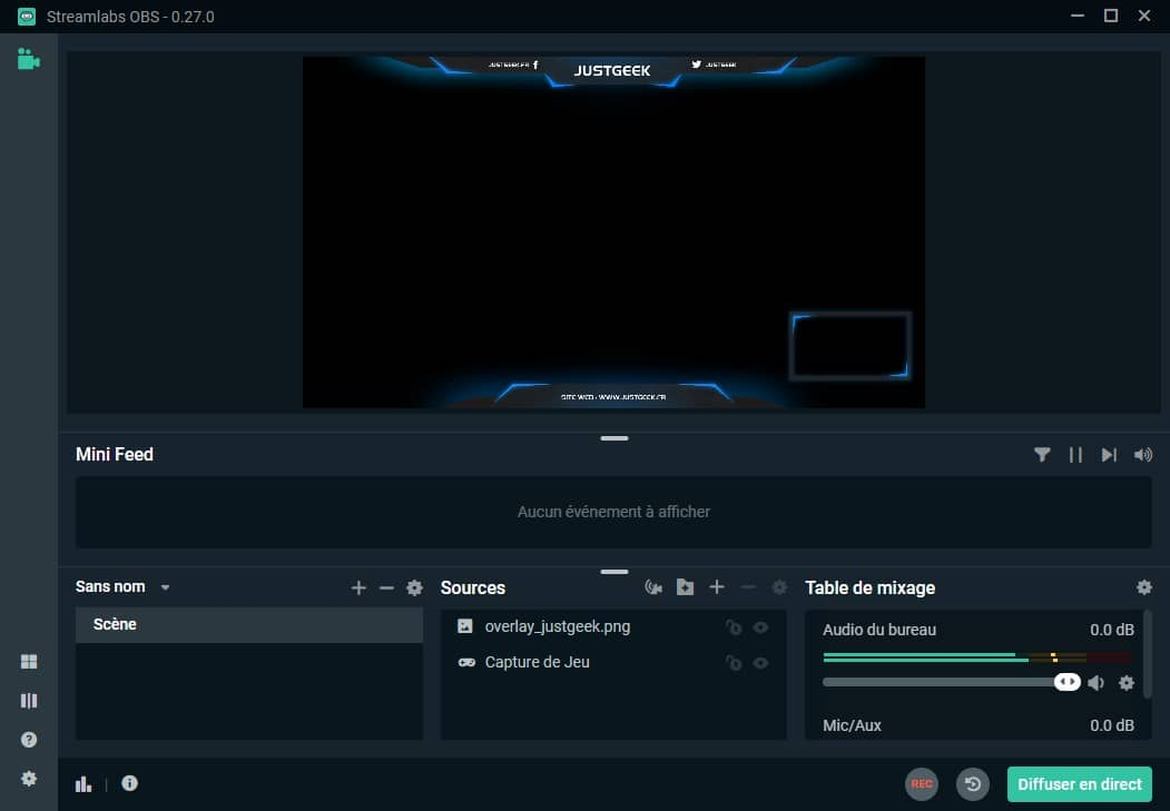 Streamlabs : logiciel de streaming en direct