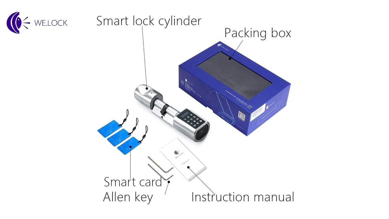 Packaging serrure digicode We Lock