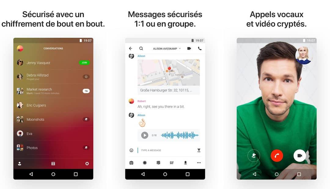 Telegram : application de messagerie instantanée sécurisée