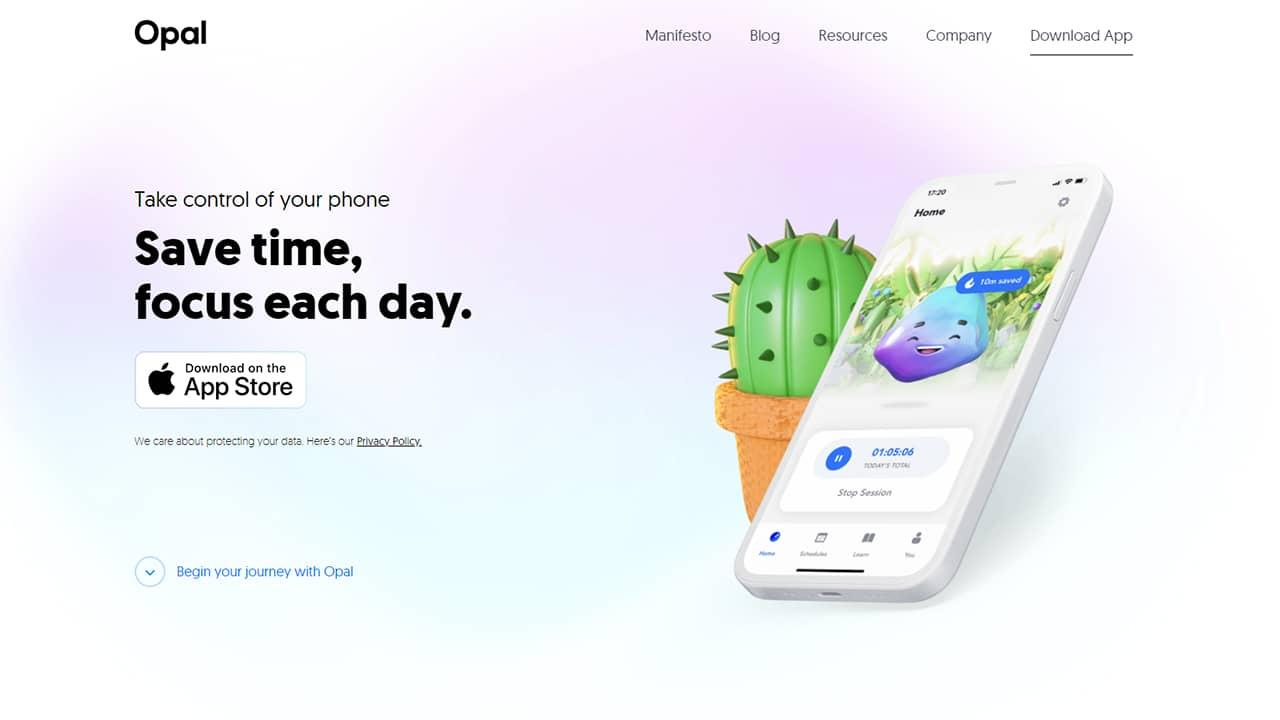 Opal, une application qui vous aide à déconnecter