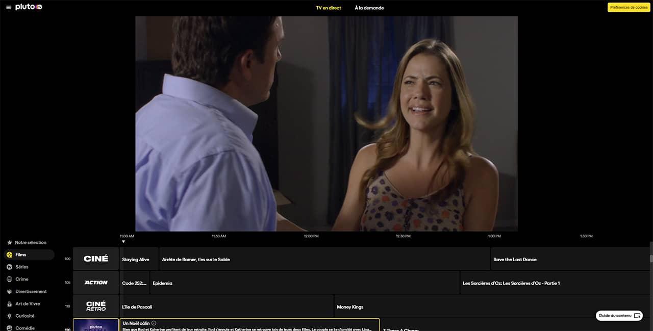 PlutoTV : une plateforme de streaming gratuite