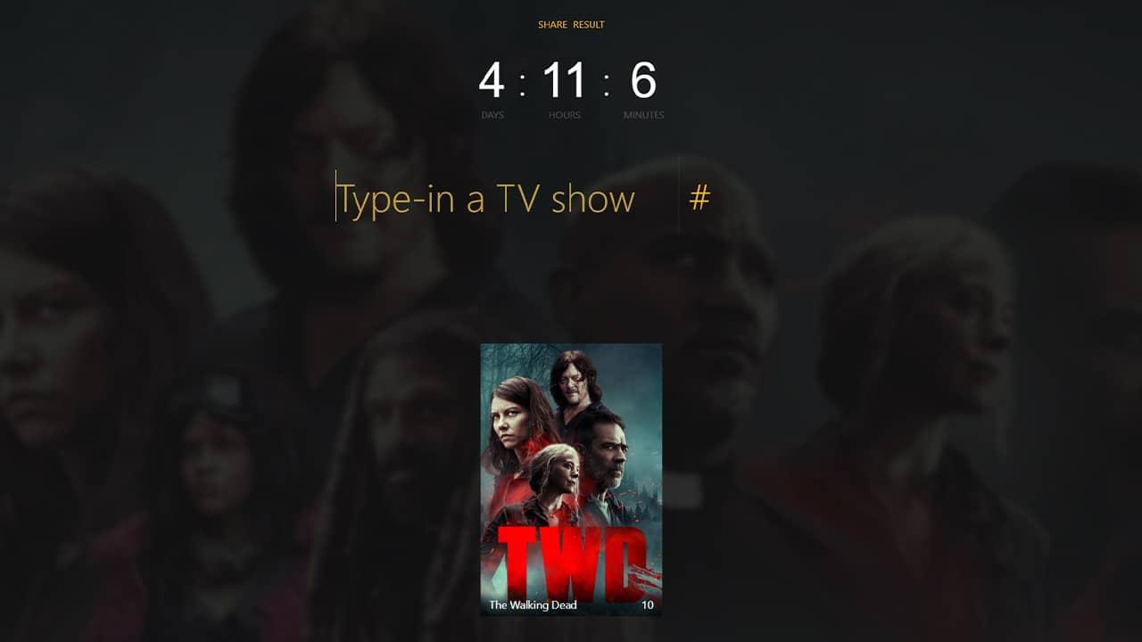 Connaître la durée de visionnage d'une série TV