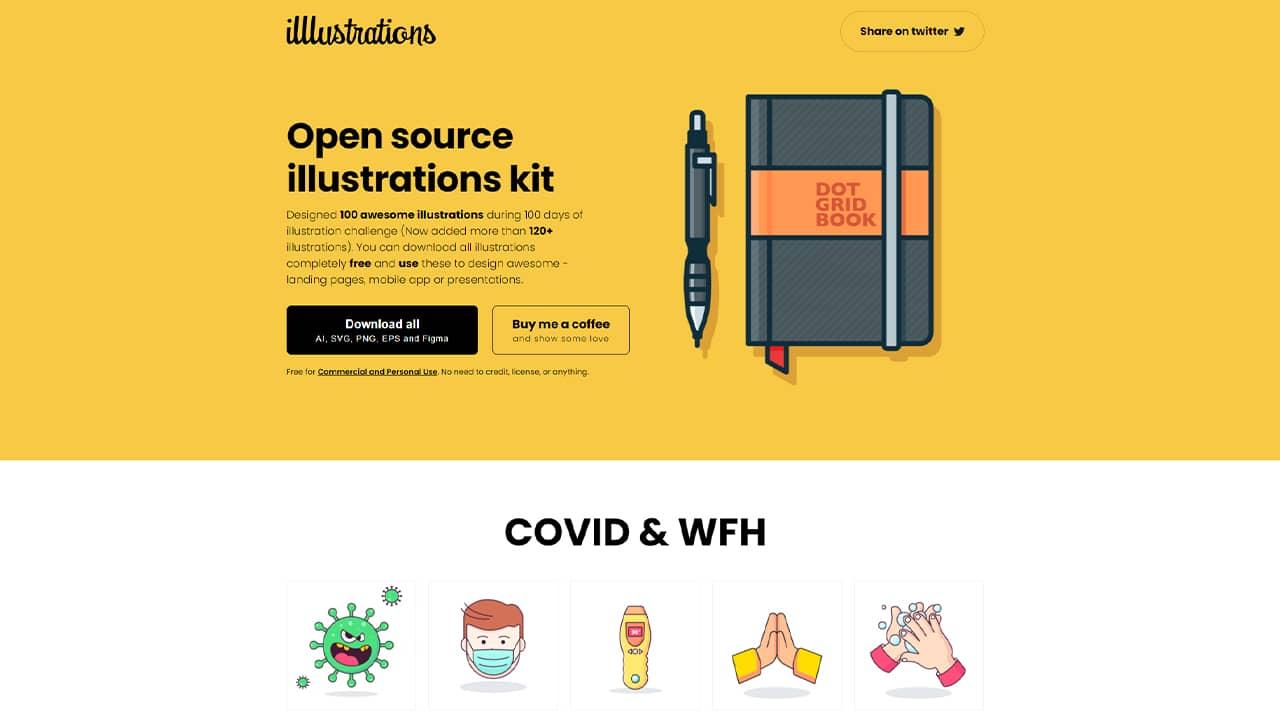 Illustrations open source gratuites