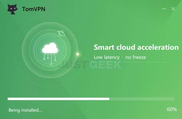 Installer le VPN gratuit TomVPN