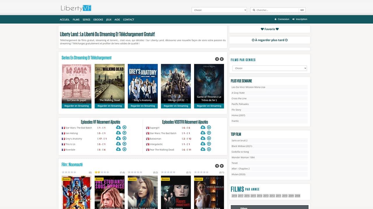 LibertyVF : Téléchargement de films gratuit, streaming et torrent…