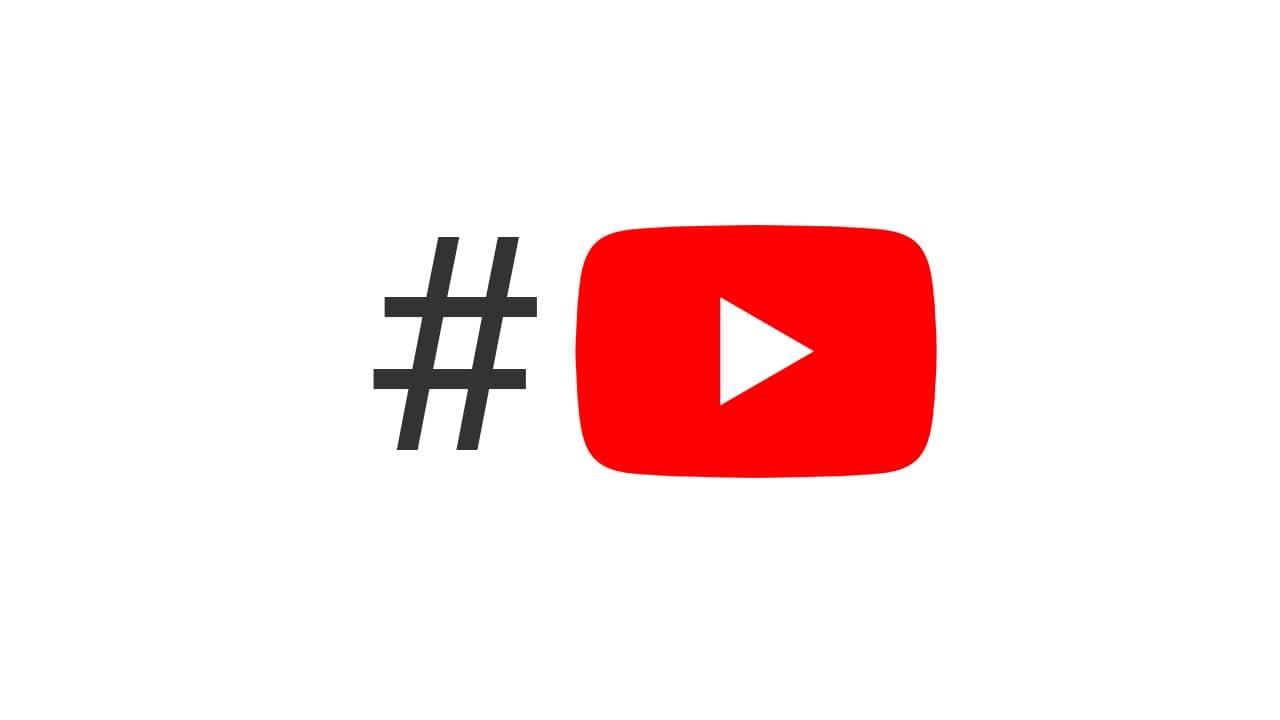 Recherche vidéo YouTube par hashtag