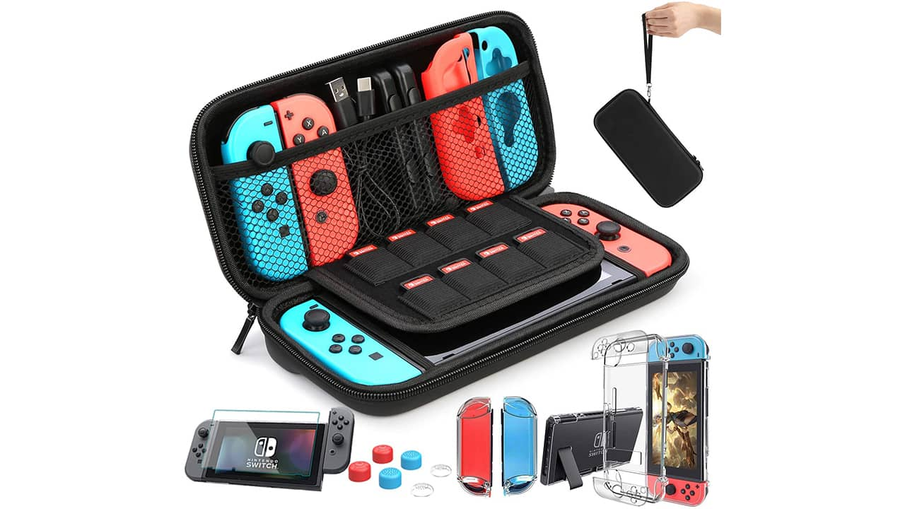 Sacoche de transport Nintendo Switch