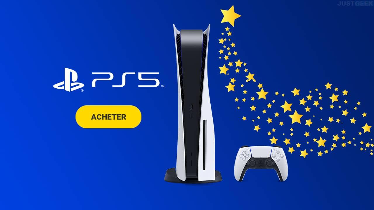 Stock PS5 : où acheter la console de Sony